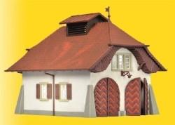 KIB/H0 Ländliche Feuerwache inkl. Hausbeleuchtungs-Startset, Funktionsbausatz
