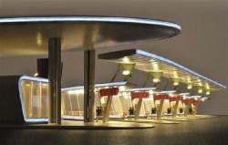 KIB/H0 Moderner Busbahnhof Halle