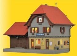 KIB/H0 Bahnhof Häusernmoos im Emmental inkl. Hausbel.-Startset, Funktionsbausatz