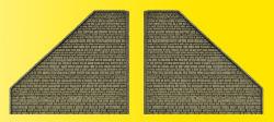 VOL/H0 Stützwand, 2 Stück, 12 x 13,5 cm