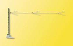 VOL/H0 Mauerplatte Ziegel, 21,2 x 11,5 cm
