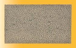 VOL/H0 Mauerplatte Bruchstein, L 28 x B 16,3 cm
