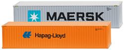 """Zubehörpackung - 40 Container (NG) """"Maersk"""" & """"Hapag Lloyd"""""""