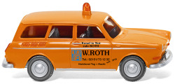 "Notdienst - VW 1600 Variant ""W.Roth"""