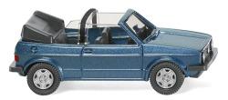 VW Golf I Cabrio - oceanic blue metallic