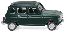 Renault R4 mit Faltdach - tannengrün