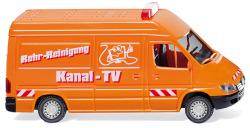 Kommunaldienst - MB Sprinter Kastenwagen mit Hochdach