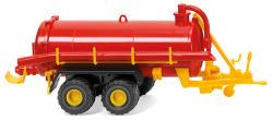 Vakuumfasswagen - rot/gelb