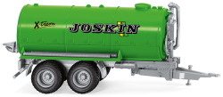 Joskin vacuum barrel trailer
