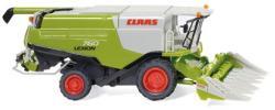 Claas Lexion 760 Mähdrescher mit Conspeed Maisvorsatz