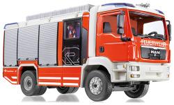 Feuerwehr - Rosenbauer AT (MAN TGM) mit transparentem Heck