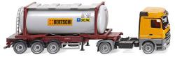 """Tankcontainersattelzug Swap (MB Actros) """"Bertschi"""""""