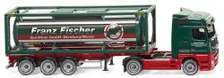 """Tankcontainersattelzug 30 (MB Actros) """"Franz Fischer Spedition"""""""