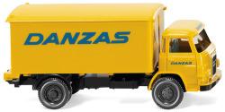 """Koffer-Lkw (MAN 415) """"Danzas"""""""