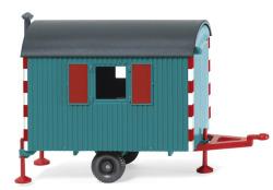 Bauwagen - wasserblau