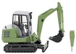 Mini-Bagger HR 18 - hellgrün