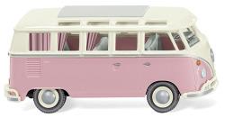 VW T1 Sambabus - perlweiß/hellrosa