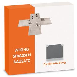 Strassen-Bausatz - Einmündung (5 Stück)