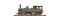Bemo 1004824 K.W.St.E. 49, Dampflokfertigmodell  Ep.I grün