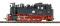 Bemo 1006891 DR 99 687 steam loco RTR