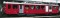 Bemo 1247213 FO BDeh 2/4 43 rack track railcar dark red