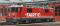 "Bemo 1258146 RhB Ge 4/4 II 615 ""Klosters"" advertising loco ""FAIRTIQ"""