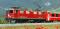 Bemo 1352125 RhB Ge 4/4 I 605 Universallok Madrisa mit Kurvensound