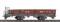 Bemo 2257217 FO Kkl 4627 Niederbordwagen braun