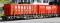 Bemo 2291122 RhB R-w 8202 ACTS-Tragwagen Vögele Recycling