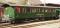 Bemo 3235145 RhB B 2245 4axle heritage passenger coach