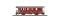 Bemo 3239211 FO B 4201 Zweiachser rot