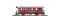 Bemo 3239280 DFB B 2210 Zweiachser Dampfbahnwagen