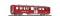 Bemo 3257421 SBB B 841 Mitteleinstiegswagen rot