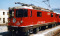 "Bemo 9958127 RhB Ge 4/4 II 627 ""Reichenau-Tamins"" loco red 0m Fama/Utz with sound"