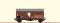 Brawa 47963 $ H0 Güterwagen Gms30 DB, III, Osram