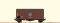 Brawa 47969 H0 Güterwagen Gms30 DB, III, Henschel