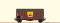 Brawa 67315 $ N Güterwagen Gms35 DB, III, Erdal