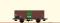 Brawa 67447 $ N Güterwagen G10 DB, III, Vivil