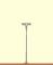 Brawa 84017 H0 LED Bahnsteigleuchte Stecksockel, einzeln
