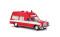 Brekina 13802 MB /8 Krankenwagen FW Frankf