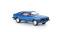Brekina 19552 Ford Capri III, blau, TD