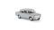 Brekina 22413 Fiat 124, silbergrau, TD