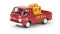 Brekina 34338 Dodge A 100 Pick-up Shell mit Ladegut, TD