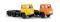 Brekina 85190 Scania LBS 76 3achs SZM, gelb, orange sortiert (SE)