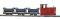 Busch 12006 $$ Feldbahn Start 3 Kipploren H0f