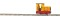 Busch 12111 Gmeindner 15/18, geschlossen gelb/rot