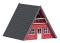 Busch 1438 Finnhütte, rot             H0