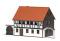 Busch 1505 Wohnhaus (4-Seiten-Hof) H0