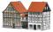 Busch 1538 Häuser mit Übergang H0