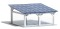 Busch 1572 $ Moderner Solarcarport H0